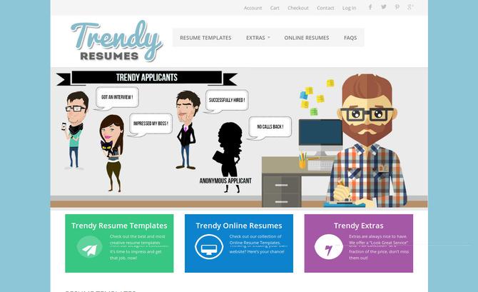 Trendy Resumes - Resume Template