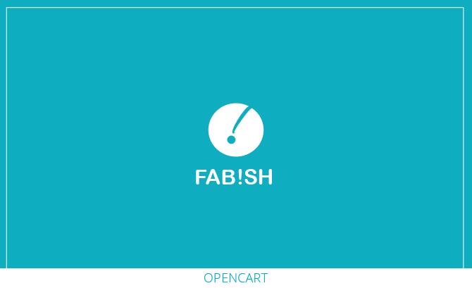 Fab!sh - Responsive Opencart