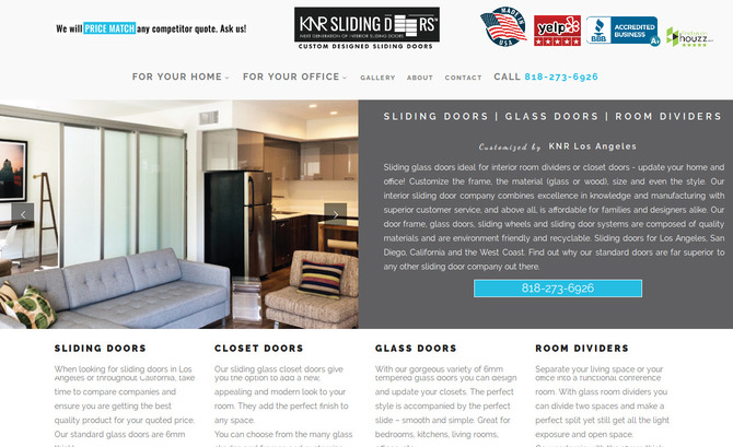 KNR - Sliding & Glass Doors