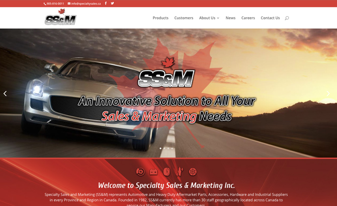 Specialty Sales & Marketing
