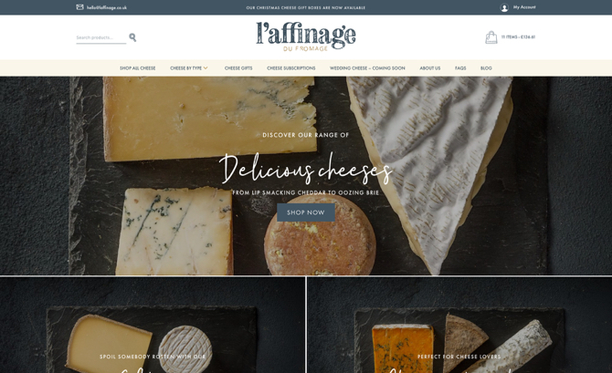 Laffinage du fromage