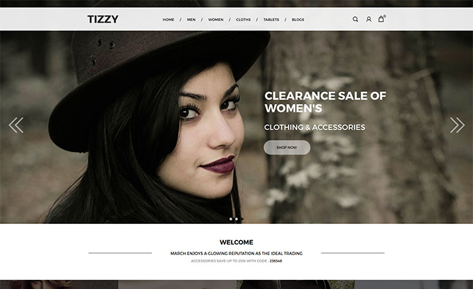 Tizzy -Multipurpose Responsive