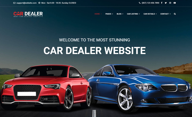 Car Dealer - HTML5 template
