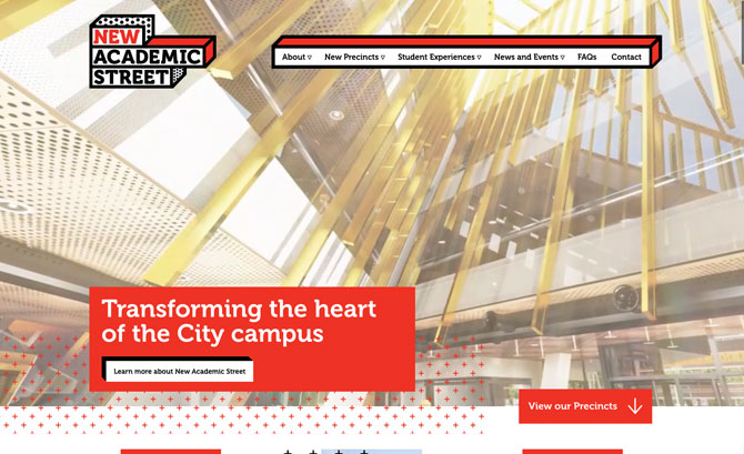 RMIT New Academic Street