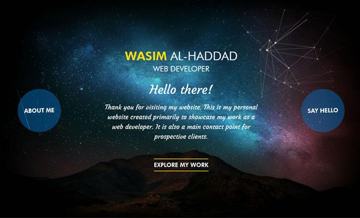 Wasim Al-Haddad - Portfolio