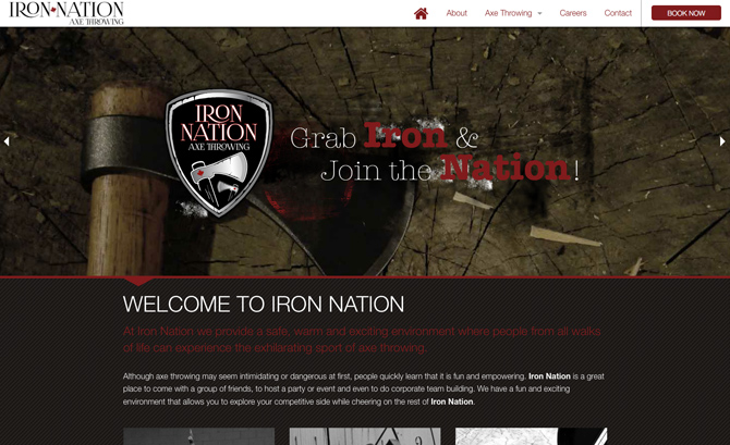 Iron Nation Axe Throwing