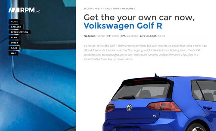 Car Dealership Landing Page