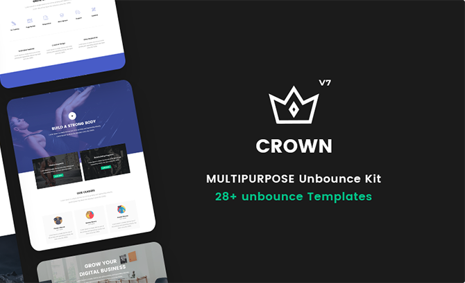 Crown - Multipurpose Unbounce