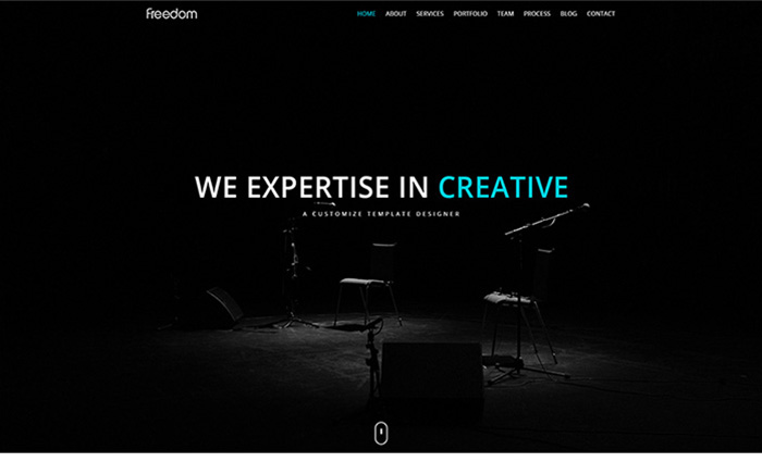 Freedom - One Page Responsive