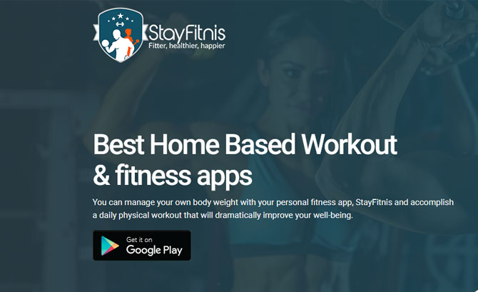 StayFitnis - Best Home Based W