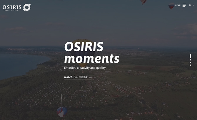 Osiris - Travel and Events