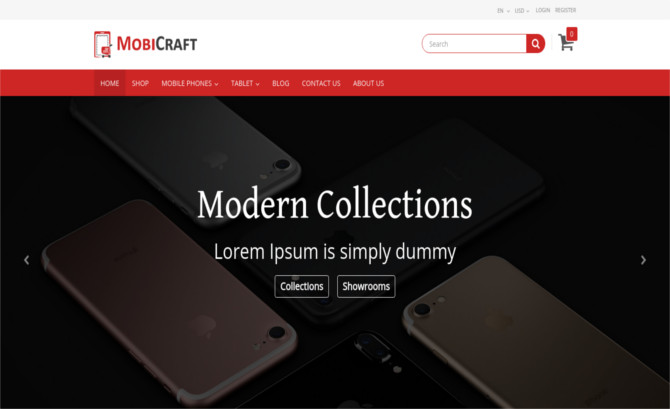 MobiCraft - Mobile Store Theme