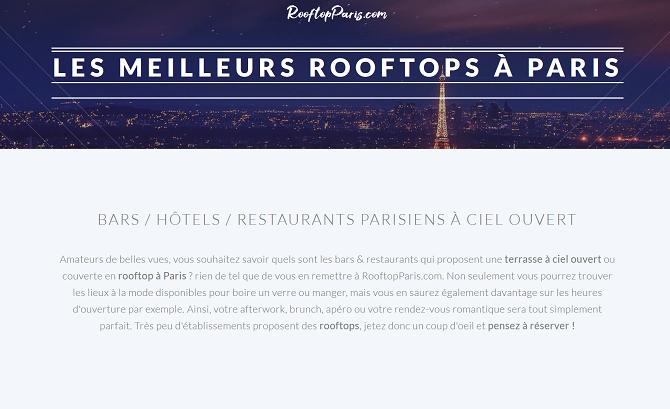 RooftopParis.com