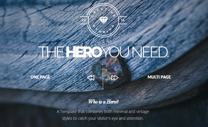 Hero Bold Multipurpose Theme