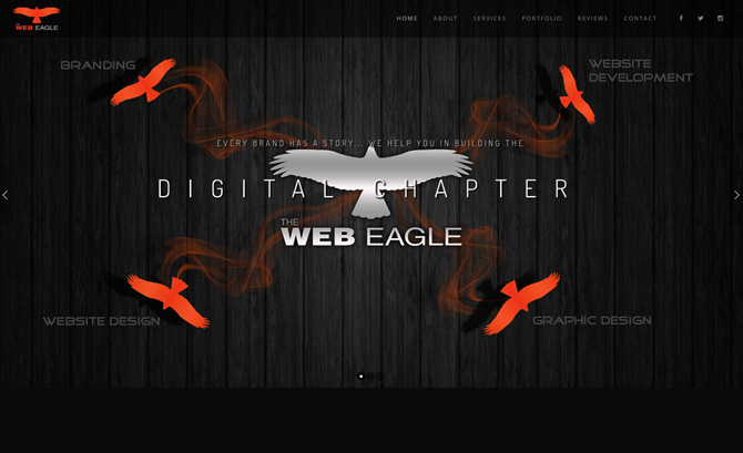 The Web Eagle