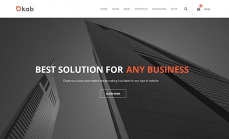 Okab WordPress Theme